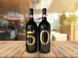 guest book wine bottle 50th birthday wine bottle guest book party supplies wine