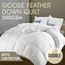 Australian Duvet Duck Goose Microfibre Australian Merino Wool Quilt Microfiber