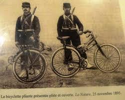 si es pliants les vélos pliants de la grande guerre de weppes en flandre