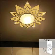 aliexpress com buy ceiling flowers wall mirror stickers acrylic