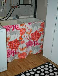 Laundry Room Decorating Accessories by Covering Up The Ugly And Laundry Room Plans Little House Of