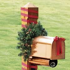 ballard classic prelit greenery mailbox swag ballard designs