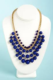 gold necklace statement images Pretty royal blue necklace statement necklace gold necklace jpg