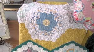 flower garden quilt pattern aunt nannie crafts flower garden quilt pattern youtube