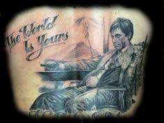 scarface tattoo u0027s pinterest tattoo portrait tattoo ink and