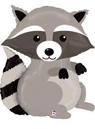 amazon com raccoon mylar supershape balloon new arrival toys