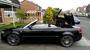 audi a4 convertible 2002 audi a4 cabriolet convertible b6 b7 roof closing with remote