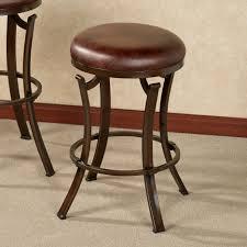 bar stools round leather bar stools saddle seat bar stools