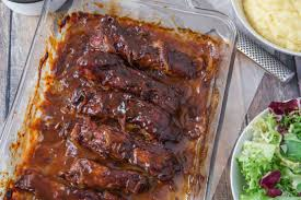 How To Cook Pork Country Style Ribs In The Oven - beer n bbq braised country style pork ribs recipe genius kitchen