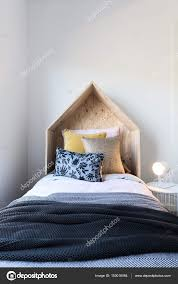 Wooden Tent by Cute Wooden Tent Style Wooden Bedhead U2014 Stock Photo Jodiejohnson