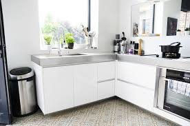 plan de travail cuisine effet beton supérieur plan de travail cuisine effet beton 11 dans la