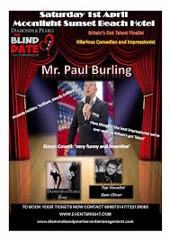 Blind Date Funny Blind Date Live Experience With Paul Burling