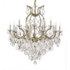 The Crystal Chandelier Crystal Beach Crystal Chandeliers Hanging Lights The Home Depot