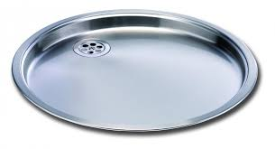 Carron Phoenix Sink Drainer Round Carisma  Kitchen Sinks Taps - Round sink kitchen