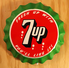 Metal Signs Home Decor by Fresh 7 Up Bottle Cap Tin Metal Sign Soda Pop Drink Kitchen Home