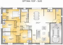 plan maison une chambre plan maison moderne 90m2 plans maison small house