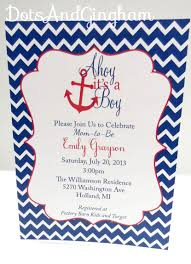 ahoy its a boy baby shower invitations ideas charming design for ahoy it39s a boy invitation chevron ahoy its a dotsandgingham egreeting ecards com jpg