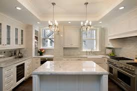 tumbled marble backsplash kitchen traditional with apron sink