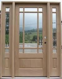 9 Lite Exterior Door Peachtree Windows And Doors Newport Textured Fiberglass Entry