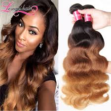 how to ambray hair ombre hair extensions 3 tone ombre brazilian virgin hair t1b 4 27