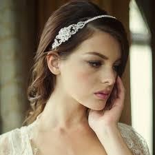 bijoux tete mariage serre tête headband bijoux de tête perles coiffure mariée