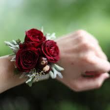 wrist corsage spray wrist corsage c9 b a florist of east lansing mi