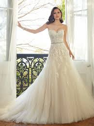 chapel wedding dresses tulle wedding gown with chapel tolli y11552
