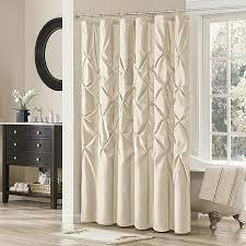 Seahawks Shower Curtain Madison Park Vivian Shower Curtain Ivory 7454229 Hsn