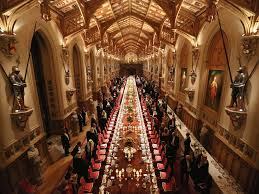 aenglaland the dining hall at windsor castle from http
