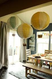 How To Make Paper Air Balloon Lantern - make paper lantern air balloons 盪 dollar store crafts