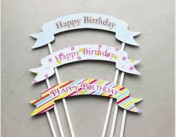 banner cake topper cake toppers happy birthday banne end 10 1 2015 11 15 am