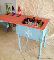 sewing machine table ideas sewing machine table ideas hqdefault diy singer oak and glass side