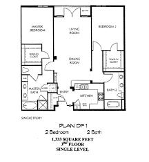 single level floor plans city walk floor plan df 1