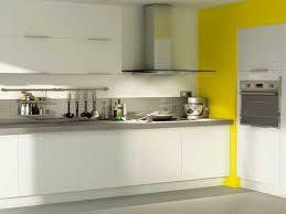 cuisine ton gris meuble de cuisine blanc et gris idée de modèle de cuisine