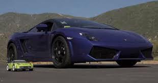 which is faster lamborghini or which is faster lamborghini gallardo or an rc car cars