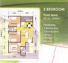 3 bedroom floor plan house house design plans