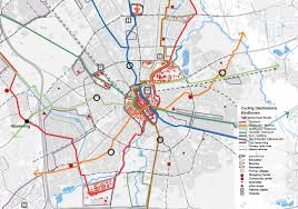 Dallas Train Map by Eindhoven Nominee For Best Cycling City Bicycle Dutch