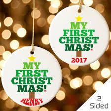 personalized christmas personalized christmas ornaments personalized ornaments