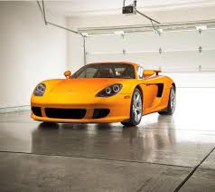 porsche carrera gt painted in paint to sample signal yellow photo