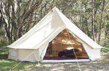 Bell Tent Awning Canvas Tent Ebay