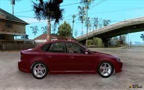 2010 subaru legacy custom subaru legacy 3 0 r for gta san andreas