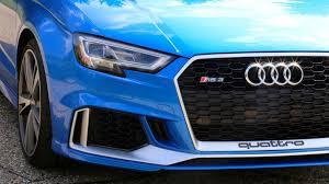 audi rs3 blue 2017 audi rs3 drivers notes blue banshee autoblog