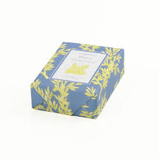 paper wrapped soap narcissus classic toile paper wrapped bar soap