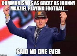 Johnny Football Meme - johnny football imgflip