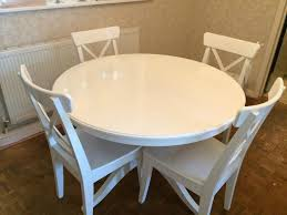 White Circle Table by Glamorous Ikea Round Table And Chairs 71 On Online With Ikea Round