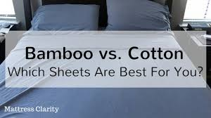 Best Egyptian Cotton Bed Sheets Bamboo Vs Cotton Which Sheets Are Best For You