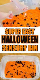simple halloween sensory bin indoor activities indoor and