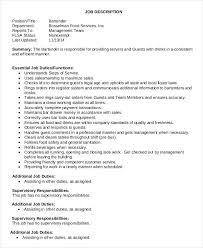 Food Service Job Description Resume by Waitress Job Description Rn Duties This Document Is A Quick