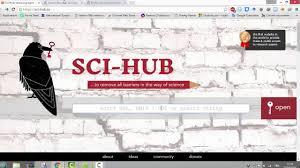 Sci Hub كيفية تحميل المقالات العلمية باستعمال الموقع Sci Hub Tw
