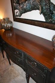painting bedroom furniture black liquid sander deglosser before